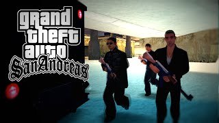 Death of a president (GTA SA Short Action Film)