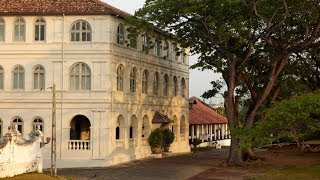 Aman tour in Sri Lanka: review of 5-star AMANGALLA in Galle Fort