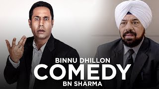 Punjabi Comedy Scene I BN Sharma I Binnu Dhillon I Speed Records