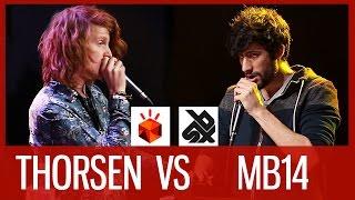 THORSEN vs MB14 | Grand Beatbox LOOPSTATION Battle 2016 | SEMI FINAL