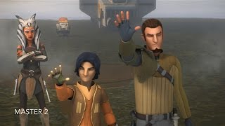 [Kanan, Ezra & Ahsoka enter the Jedi Temple on Lothal] Star Wars Rebels Season 2 Episode 18 [HD]