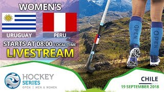Uruguay v Peru | 2018 Women's Hockey Series Open | FULL MATCH LIVESTREAM