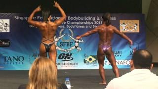 Rowena Marcaida  - SFBF National Championships 2011 - Women's bodybuilding