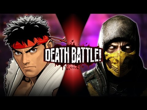 Ryu vs Scorpion DEATH BATTLE