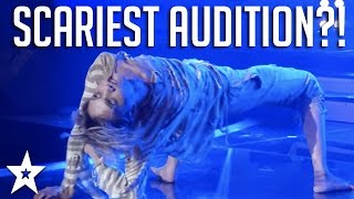 Ahhh! Guy BENDS HIS BONES on Got Talent | Scariest Audition Ever?!