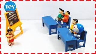 Doremon và Nobita lớp học của Xuka về xe cứu hỏa của biệt đội chó cứu hộ