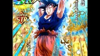 STR Spirit Bomb Goku SA LV 10 Nuking Kid Buu: Z-Hard 40 Stamina: DBZ Dokkan Battle