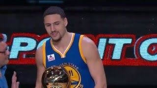 Klay Thompson Wins Foot Locker Three-Point Competition