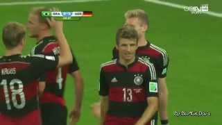 المانيا 7-1 البرازيل نصف نهائي كاس العالم ٢٠١٤ HD تعليق رؤوف خليف Germany 7-1 Brazil