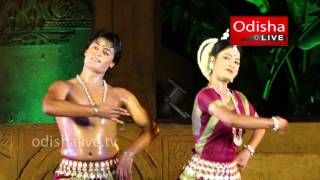 Odissi Dance - Niranjan Rout, Nupur - Dhauli Kalinga Mahotsav 2016