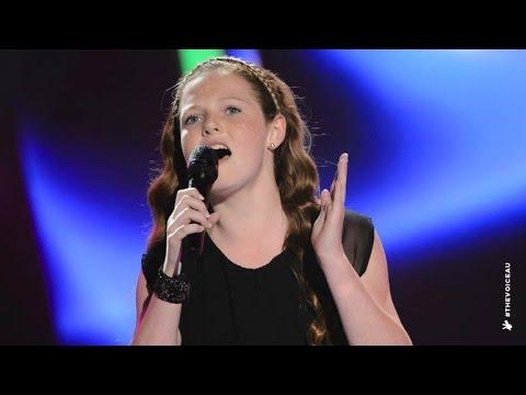 Grace Sings Firestarter | The Voice Kids Australia 2014