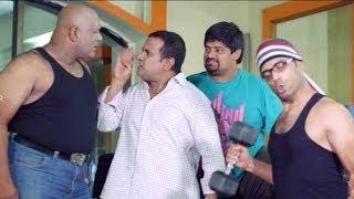 Gullu Dada Thriee Hyderabadi Movie || Sajid And Aziz Comedy Scenes || Back To Back Part  02
