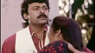 Alluda Majaka Movie Scenes - Chiranjeevi real face gets revealed - Ramya Krishna, Ramba