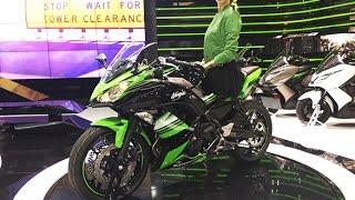 First look: 2017 Kawasaki Ninja 650 revealed at Intermot 2016