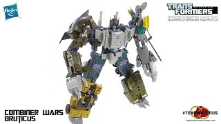 Transformers Combiner Wars BRUTICUS Video Review