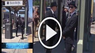 MIB Are Following ME!!! Scary [Men In Black] Encounter Caught On Video 2016 UFO Alien Abductions!
