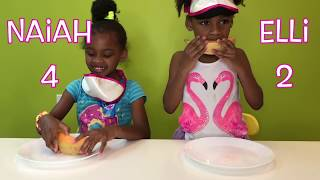 FRUIT CHALLENGE! Cute Toys and Me Challenge