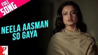 Neela Aasman So Gaya (Female) - Full Song | Silsila | Amitabh Bachchan | Rekha