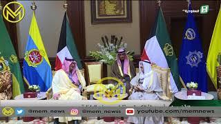 سمو الأمير الشيخ صباح الاحمد الصباح يستقبل وزير الداخلية السعودي