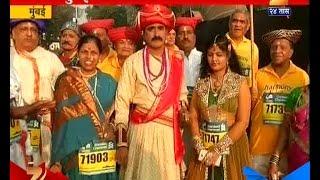 13th Mumbai Marathon : Bajirao Mastani And Kashi In Dream Run