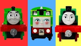 Learn ABC Letters with Thomas and Friends Toy Trains, ABC Thomas | Best Learning Video for Kids