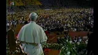 Visita Papal 1985 UCV (Parte 2 de 14)