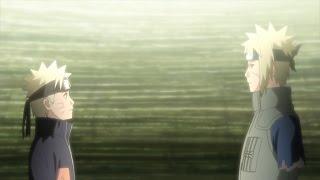 Naruto talk with his father Minato Naruto Shippuuden - 474 TV TOKYO Corporation