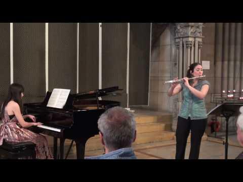 César Franck Sonate für Flöte und Klavier in A Dur