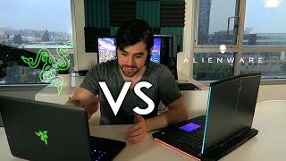 Alienware 15 R3 vs Razer Blade - GTX 1060 - Pascal Laptop Comparison