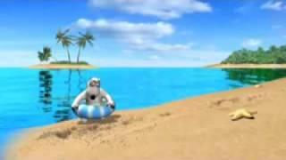 Backkom The Polar Bear - I love picnic