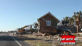6 days after Hurricane Michael landed on Mexico Beach FL (FILM DOCUMENTARY)