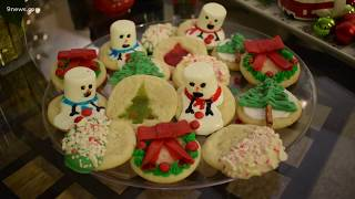 Easy, cute ideas for decorating Christmas cookies