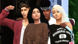 TEENAGE PROBLEMS / Spin The Bottle / Episode 2 / A sims 4 Series
