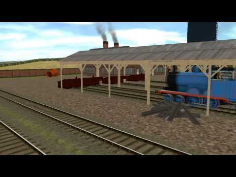 Thomas & The Magic Railroad Different Version of Diesel 10 Chasing Thomas and Lady