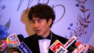 [Eng Sub] 9Ent - Mike D. Angelo's Interview about Margie's wedding, the charity run and Aom-Sushar