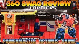 360 Swag Review: G1 Transformers Powermaster Optimus Prime (1988) + Takara God Ginrai Reissue