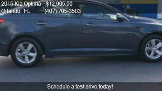 2015 Kia Optima LX 4dr Sedan for sale in Orlando, FL 32807 a