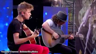 Justin Bieber - One Time (Acoustic) | MTV World Stage Live High Definition