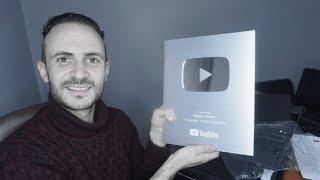 وأخيرا وصلني الدرع الفضي من اليوتيوب ! هذه هي قيمته
