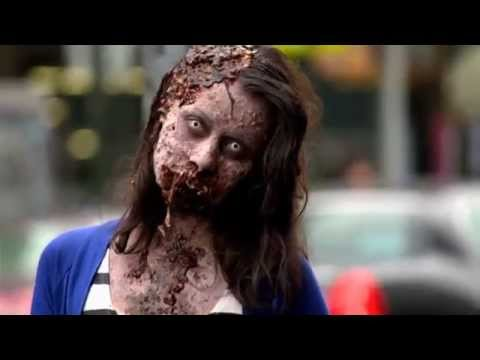 Zombies walking around NYC That s not a movie