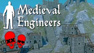 Building Vader Hall Part 4 | Vader Village | Medieval Engineers #4