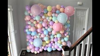 Balloon Wall DIY | How To | Tutorial