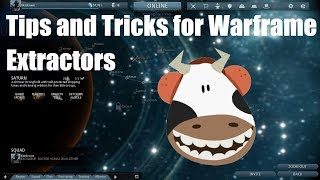 Warframe tips and tricks: Extractors