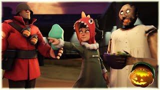 [FNAF/SFM] My Dear Friend Slendrina Granny & Olivia (FNAF 6 /FNAF Sister Location animation) #2