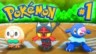 Pokemon SUN and MOON Episode 1 - Walkthrough Part #1 - LIVE w/ Ali-A!