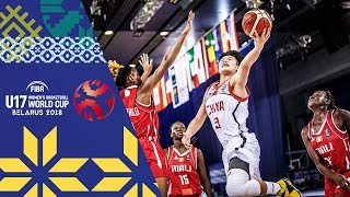 LIVE 🔴- China v Mali - FIBA U17 Women's Basketball World Cup 2018