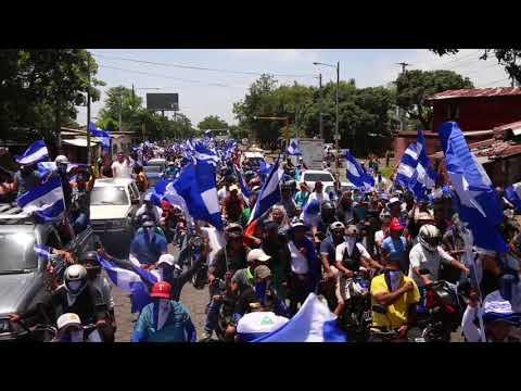 Xxx Mp4 Caravana Azul Y Blanco Recorre Calles De Managua Para Exigir Justicia Y Democracia 3gp Sex