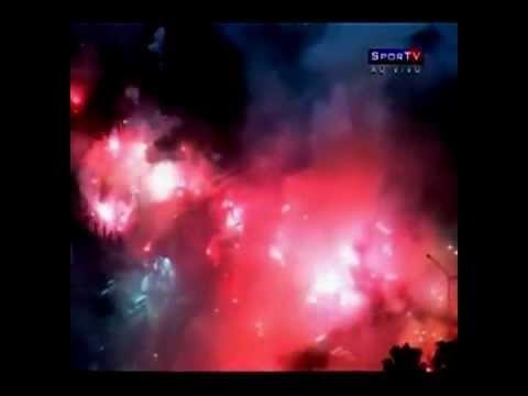 Ruas de Fogo Inter x Santos Libertadores 2012
