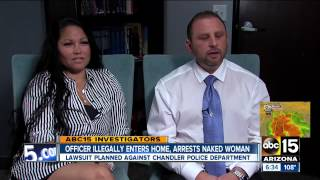 Naked Woman Handcuffed In Her Own Home By Police Not Charged With Crime