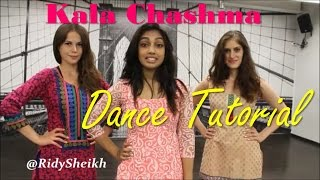 Kala Chashma | Baar Baar Dekho | DANCE TUTORIAL MIRRORED by Ridy Sheikh